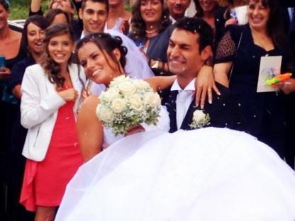 Francesco Dell Uomo Matrimonio : Francesco e dalila: nozze azzurre tra tuffi e sincronizzato. il