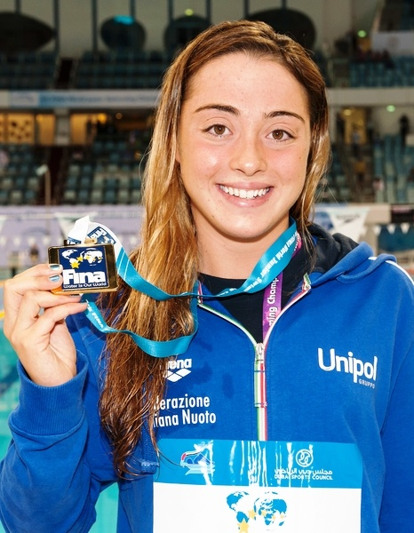 Carli Diletta  Italy 1st Gold medal World Champion